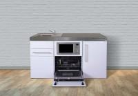 Miniküche Premiumline MPGSM 160 - Mit Geschirrspüler & Mikrowelle