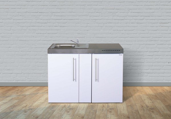 Miniküche Premiumline MP 120 - Mit Kühlschrank