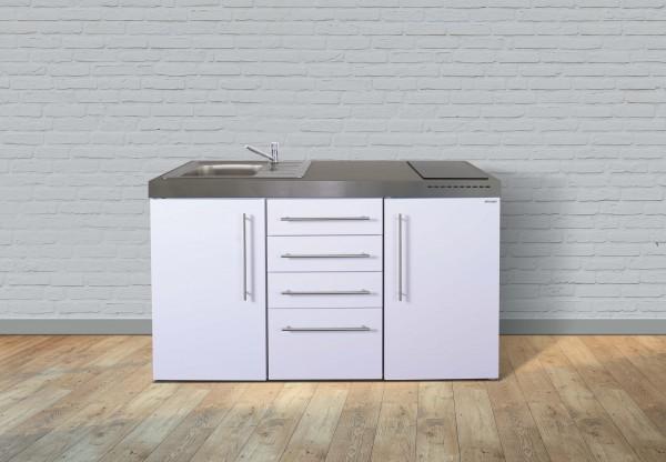Miniküche Premiumline MPS4 150 - Mit Kühlschrank & Schubladen