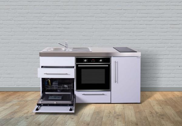 Miniküche Premiumline MPBGS 170 - Mit Geschirrspüler & Backofen