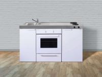Miniküche Kitchenline MKB 150 - Mit Backofen & Kühlschrank