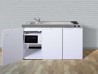 Miniküche Kitchenline MKM 150 - Mit Mikrowelle & Kühlschrank