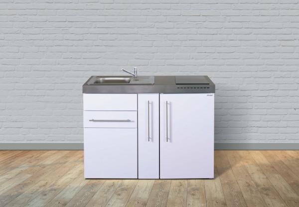 Miniküche Premiumline MP 120 A - Mit Kühlschrank & Apothekerauszug