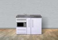 Miniküche Premiumline MPM 120 A - Mit Kühlschrank & Mikrowelle