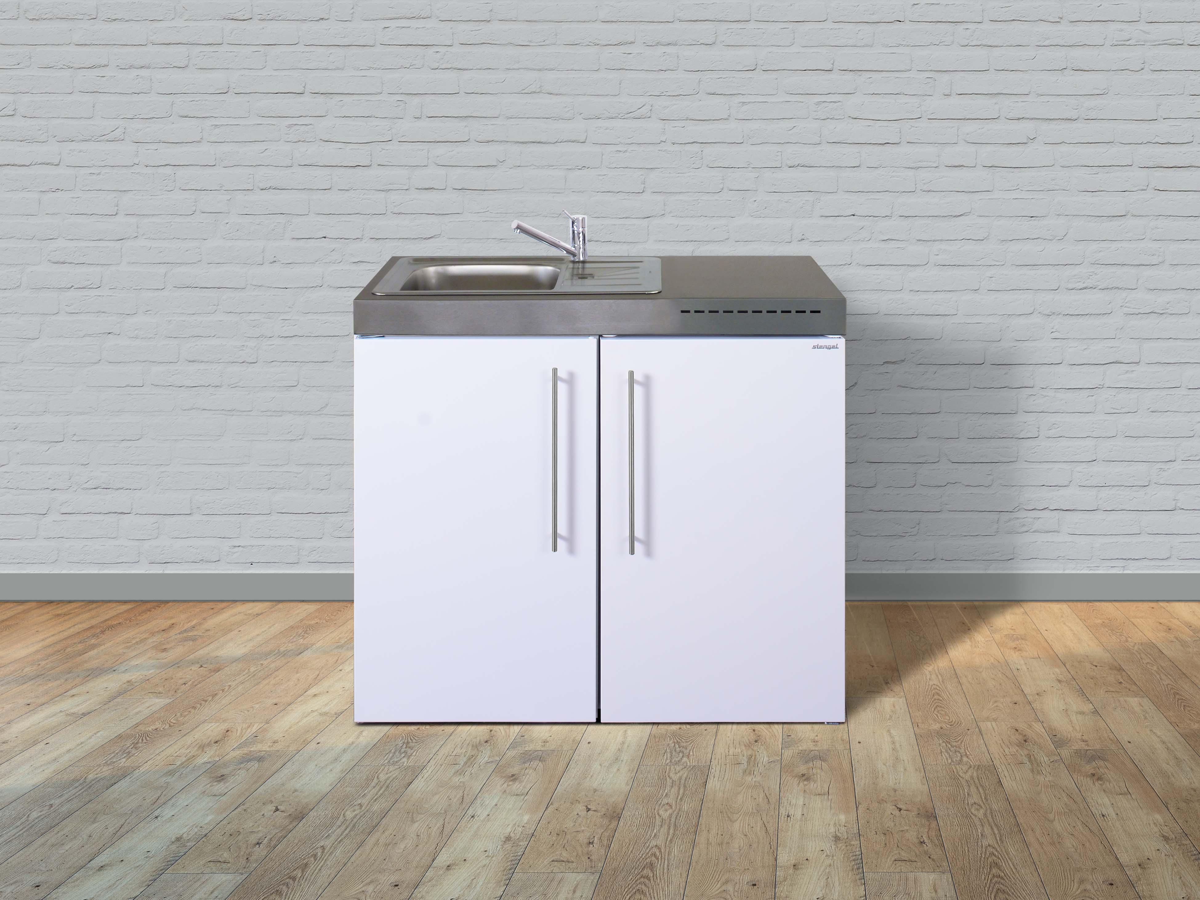 Miniküche Mit Kühlschrank 100 Cm : Stengel miniküche premiumline mp miniküchen online