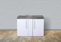 Miniküche Mit Kühlschrank Zubehör : Miniküchen singleküchen günstig kaufen miniküchen online