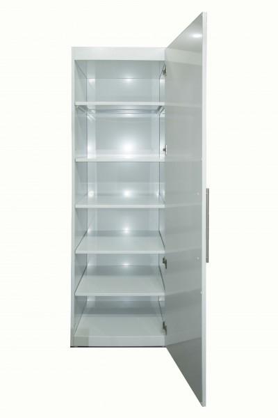 Geschirrschrank für Miniküchen & Schrankküchen - Weiß