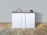 Miniküche Kitchenline MK 120 A - Mit Kühlschrank & Auszug