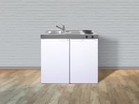 Miniküche Kitchenline MK 100  - Mit Kühlschrank