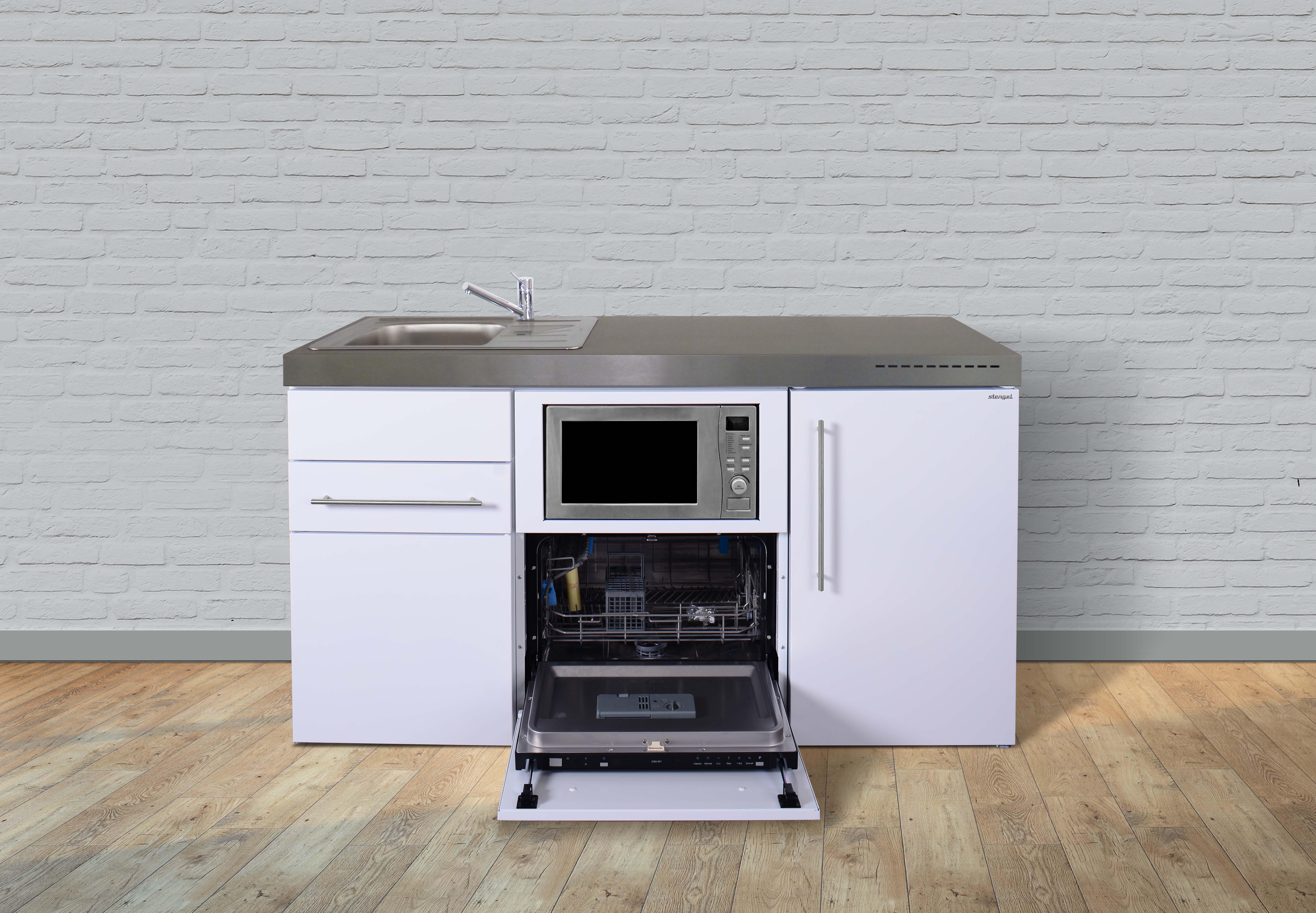Miniküche Mit Ceranfeld Ohne Kühlschrank : Stengel miniküche premiumline mpgsm miniküchen online