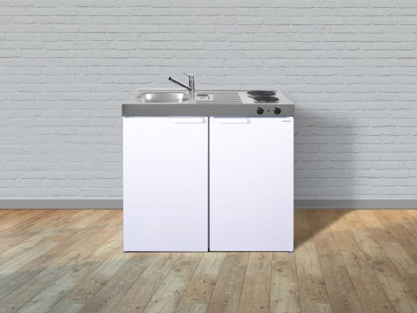 Miniküche Kitchenline MKGS 100 - Mit Kühlschrank & Tischgeschirrspüler