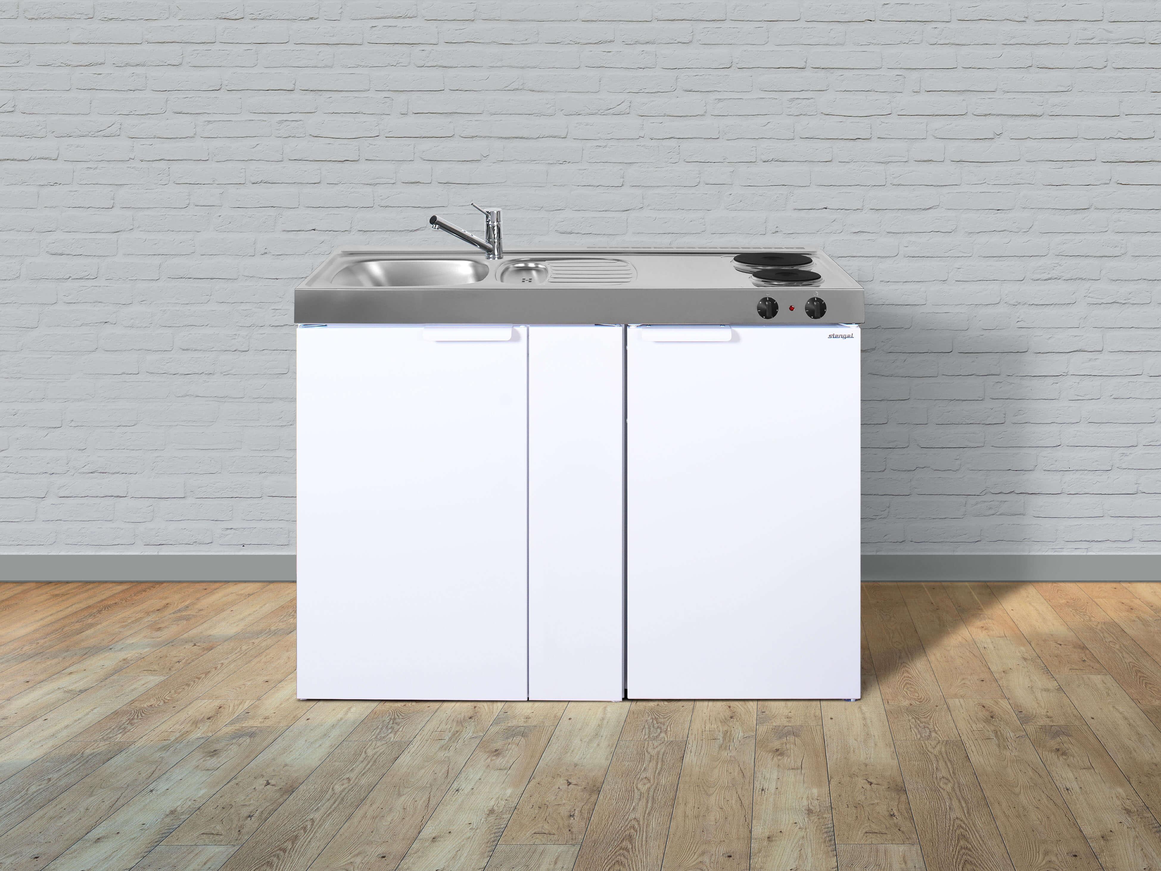 Miniküche Mit Kühlschrank Und Geschirrspüler : Stengel miniküche kitchenline mk miniküchen online